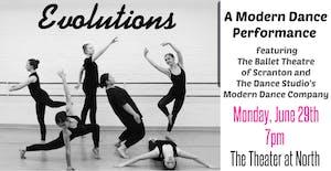 """""""Evolutions"""" A Modern Dance Performance"""
