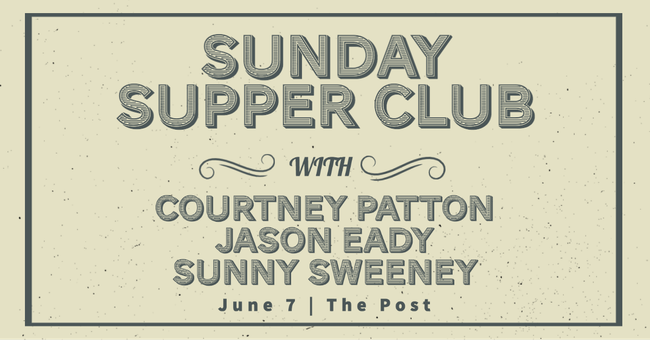 Cancelled // Courtney Patton, Jason Eady and Sunny Sweeney