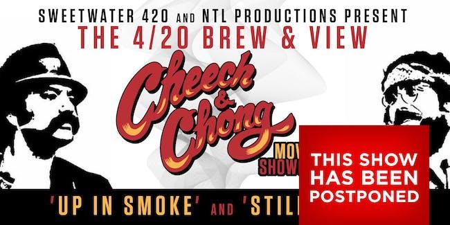 POSTPONED: 420 Brew & View featuring a Cheech & Chong Movie Showcase