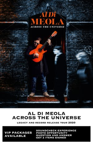 Al Di Meola - Across the Universe: Legacy and Record Release Tour 2020