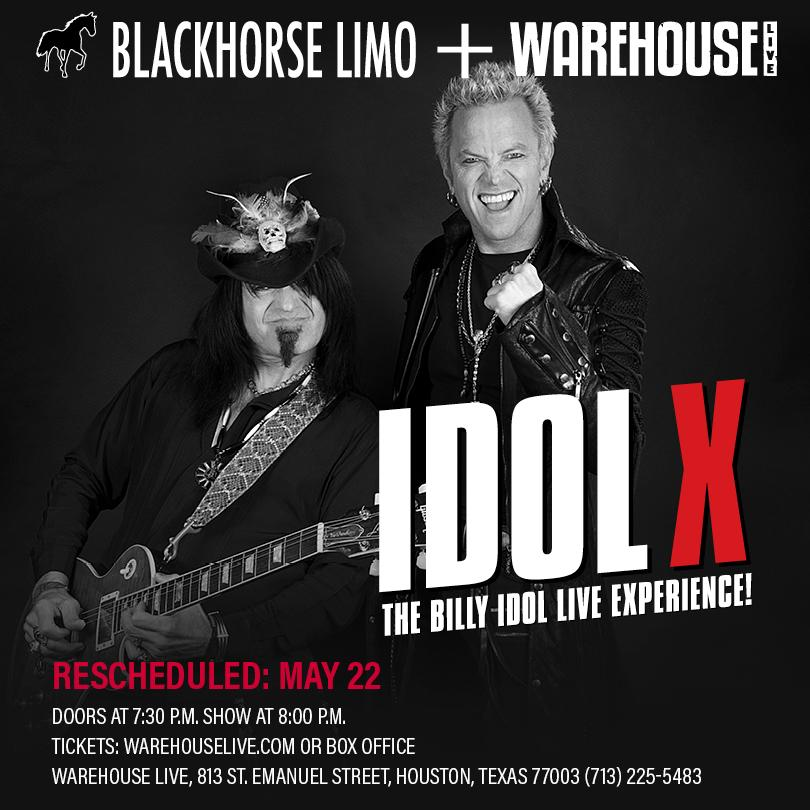 IDOL X (THE BILLY IDOL LIVE EXPERIENCE)