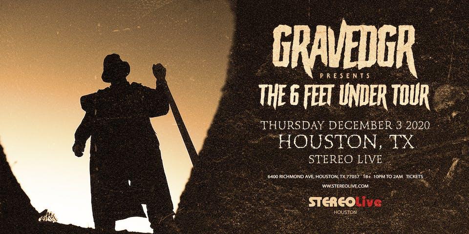 GRAVEDGR - Stereo Live Houston