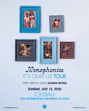 Monophonics, Alanna Royale - new date.  Tickets will be honored.