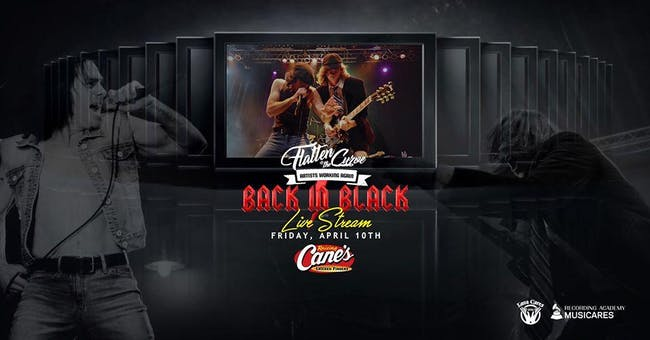 [LIVE STREAM!] Back In Black - Flatten the Curve with Lava Cantina