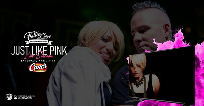[LIVE STREAM!] Just Like Pink - Flatten the Curve with Lava Cantina