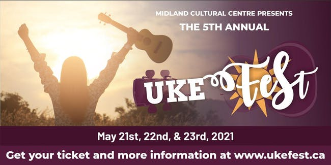 Uke Fest 2021 5th Annual Year