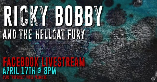Ricky Bobby & The Hellcat Fury: Livestream