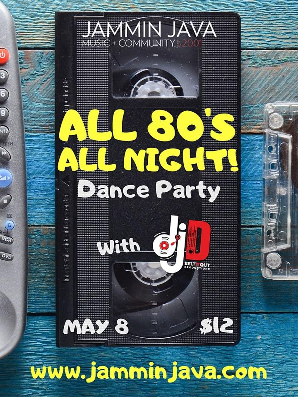 All 80's All Night Dance Party!