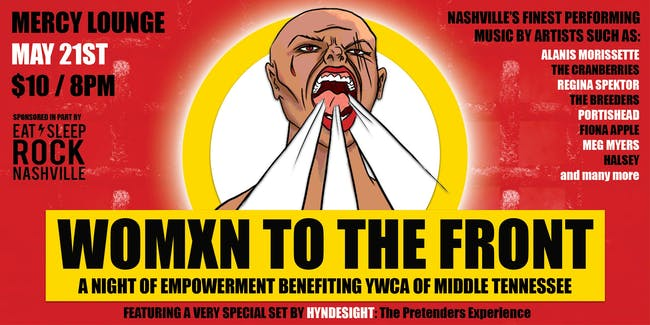 Womxn To The Front: A Night of Empowerment Benefiting YWCA of Middle TN