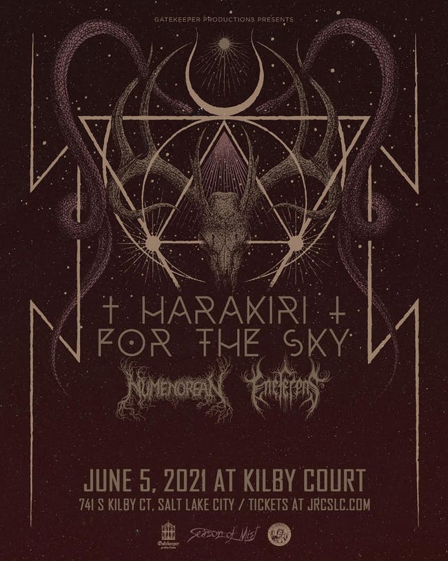 Harakiri For the Sky, Numenorean, Eneferens