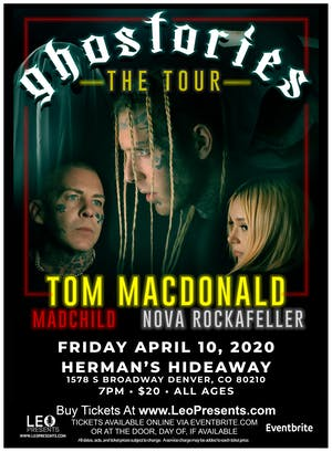 (NEW DATE) TOM MACDONALD w/ MADCHILD  & GUESTS