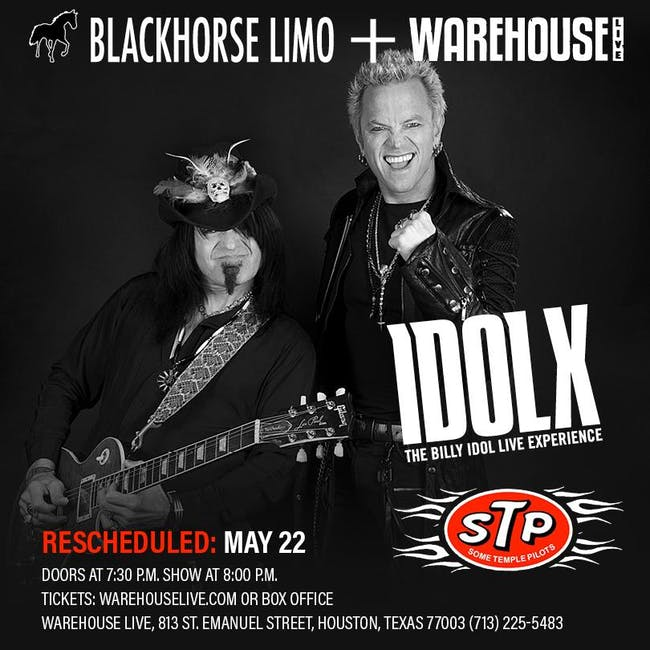 IDOL X (THE BILLY IDOL LIVE EXPERIENCE), STP (SOME TEMPLE PILOTS)