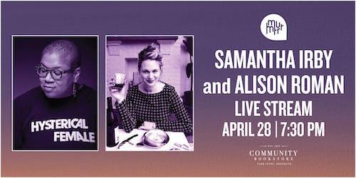 LIVE STREAM Reading & Conversation with Samantha Irby & Alison Roman