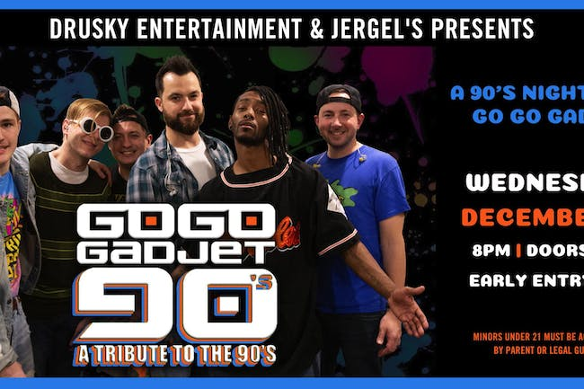 Go Go Gadjet - 90s Night!