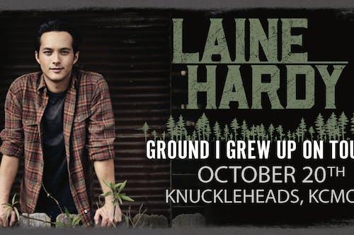 Laine Hardy  (Season 17 American Idol Winner)– Ground I Grew Up On Tour