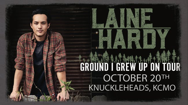 Laine Hardy  (Season 17 American Idol Winner)– Ground I Grew Up On Tour
