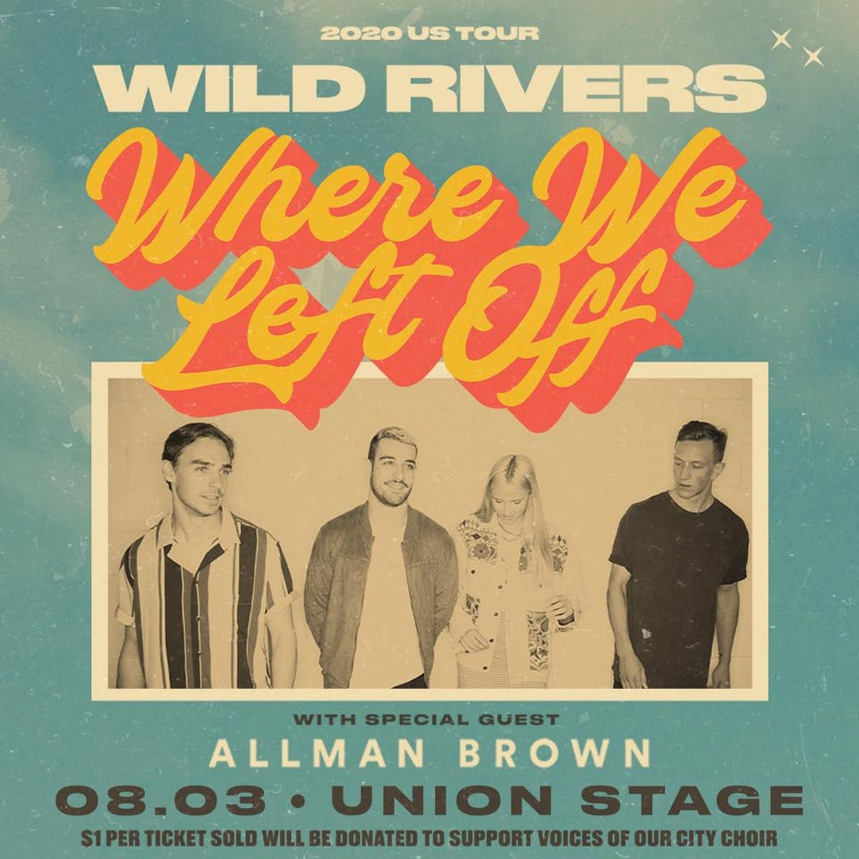 "Wild Rivers ""Where We Left Off"" + Allman Brown"