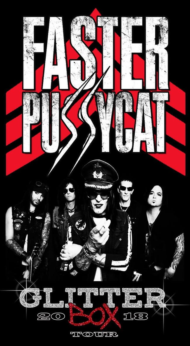 Faster Pussycat, Enuff Z'Nuff plus Guests at El Corazon