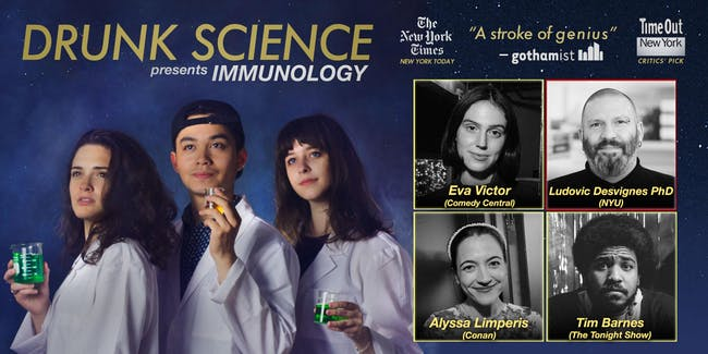 Drunk Science Presents: Immunology (At Home!)
