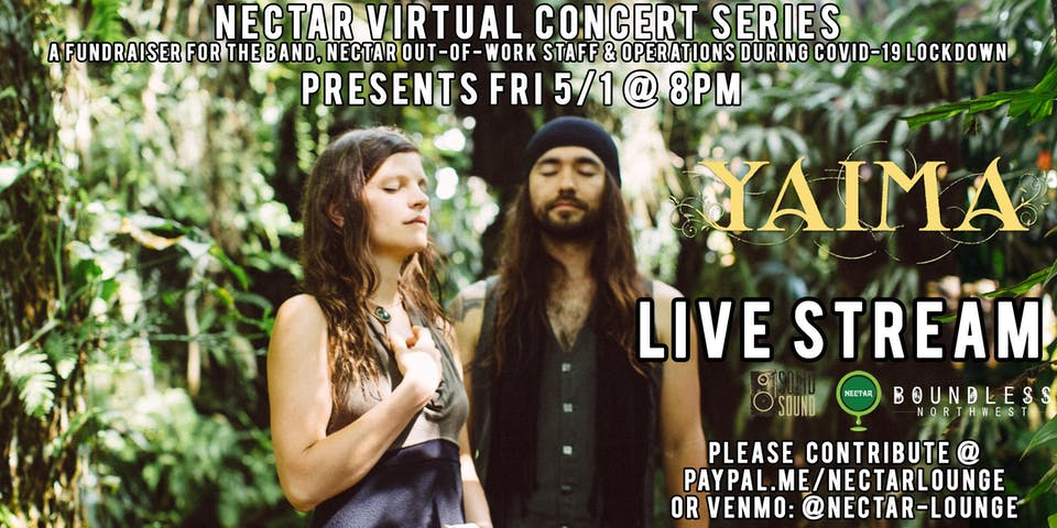 Nectar Virtual Concert Series presents YAIMA (Live Stream)