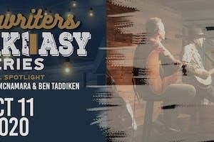 Songwriter Speakeasy Series:  Kim Jade, Ben Taddiken & Kristen McNamara