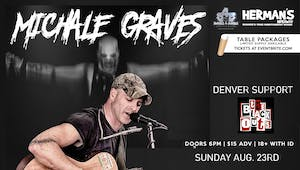 Michale Graves (Misfits Acoustic) NEW DATE IS NOW 8/23/20 !
