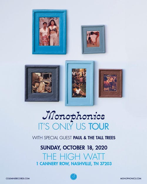 Monophonics w/ Paul & The Tall Trees