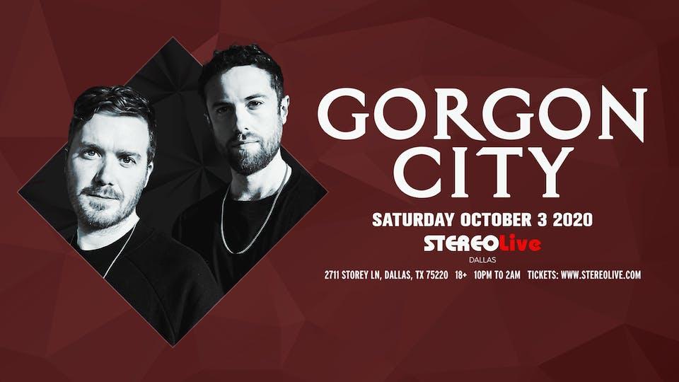 Postponed, New Date TBD - Gorgon City - Stereo Live Dallas