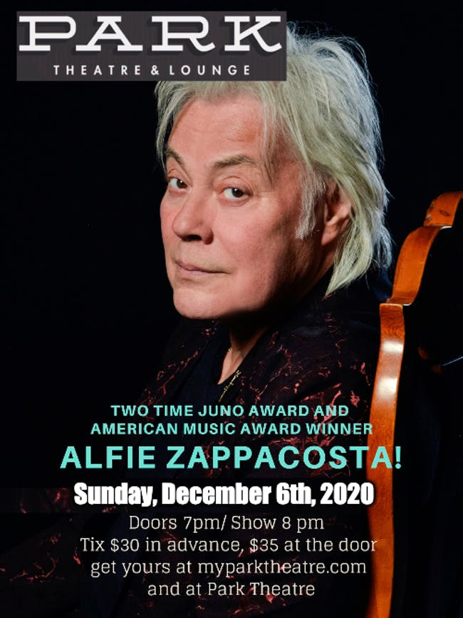 An Intimate Show with Alfie Zappacosta